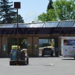 EarthNet Energy 8 Collector Car Wash Solar Hot Water System