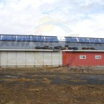 EarthNet Energy 10 Collector Agricultural Solar Hot Water System