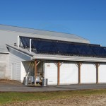 EarthNet Energy 10 Collector Butcher Shop Solar Hot Water System