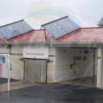 EarthNet Energy 10 Collector Car Wash Solar Hot Water System