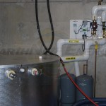 EarthNet Energy  Winery Solar Mechanical Room