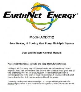 EarthNet Energy User Manual