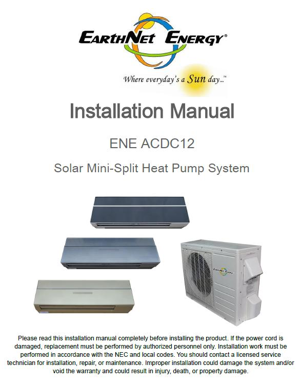 manuals specifications solar heating cooling earthnet energy rh earthnetenergy com