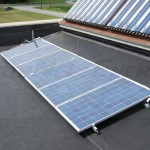 6 Metal Mounted Solar PV Panels