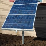 3 Ground Mounted Solar PV Panels